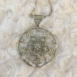 Jessica Simpson Round Star Necklace